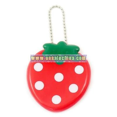 PVC Keyring - Strawberry
