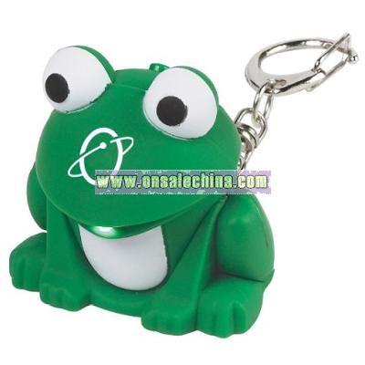 Light & Sound Keychain - Frog