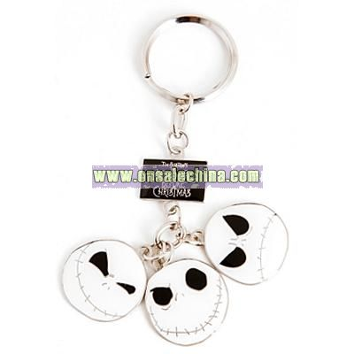 The Nightmare Before Christmas 3 Faces Key Chain