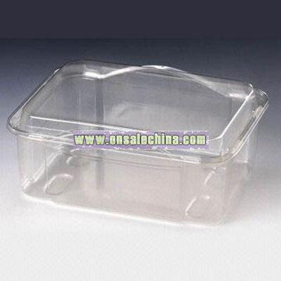 PET 65MM SOFT FRUIT PUNNET Disposable Food Container