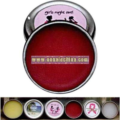 Natural berry lip gloss tin