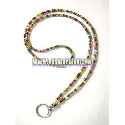 Candy Colors Work Badge Lanyard