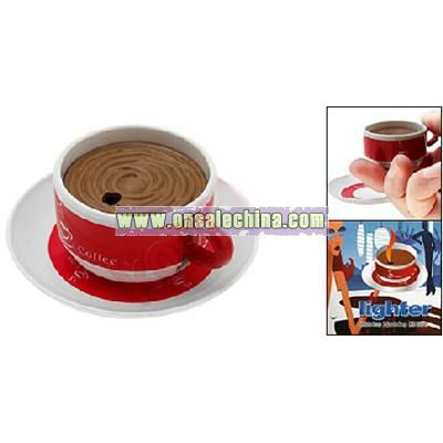 Coffee Cup Cigar Cigarette Butane Torch Lighter