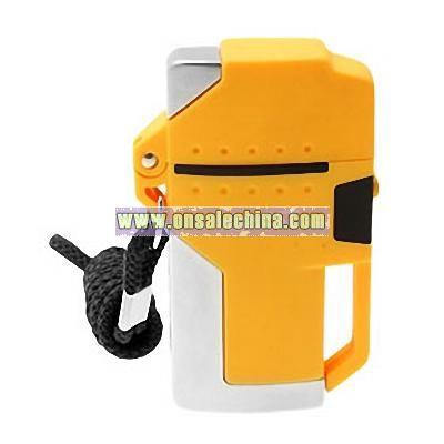New Butane Electric Cigar Cigarette Lighter Yellow