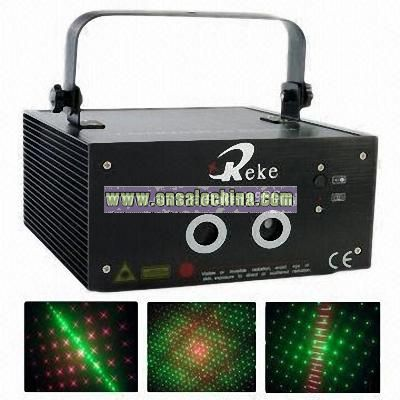 Stage Light with Kaleidoscope Laser Effects