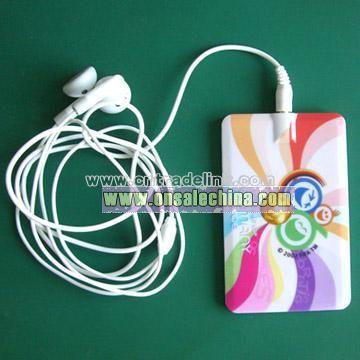 Namecard MP3 player