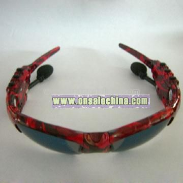 Fashion Sunglasses With MP3 Player