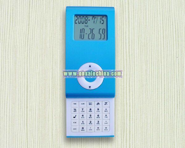 MP3 Slip calendar with calculator