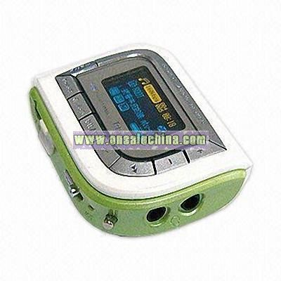 Flash MP3 Player with Built-in FM Radio
