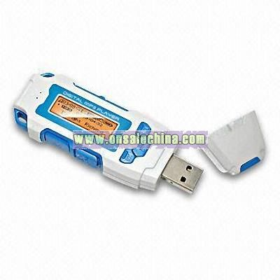 Flash MP3 Player with Voice Record Function and FM Radio