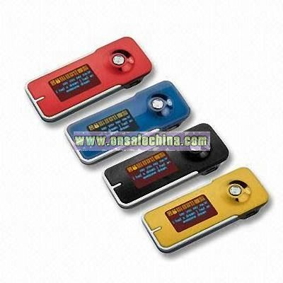 Flash MP3 Player with FM Radio