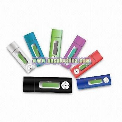 MP3 Player with FM Tuner