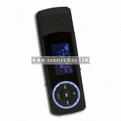 Flash MP3 Player with Radio