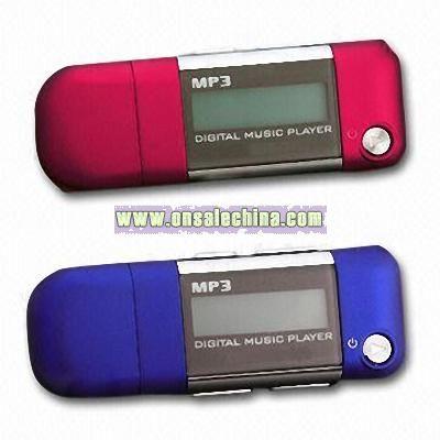 Flash MP3 Player with FM Radio