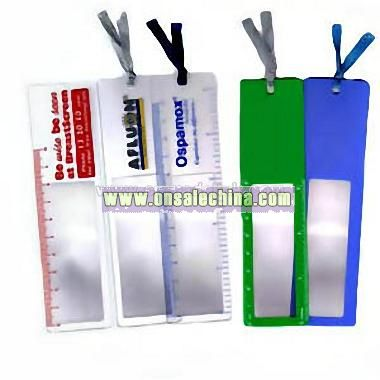 Bookmark Magnifier Sheet with tassel