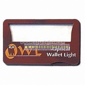 Card Magnifier with LED