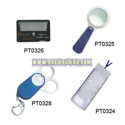 LED Magnifier Light
