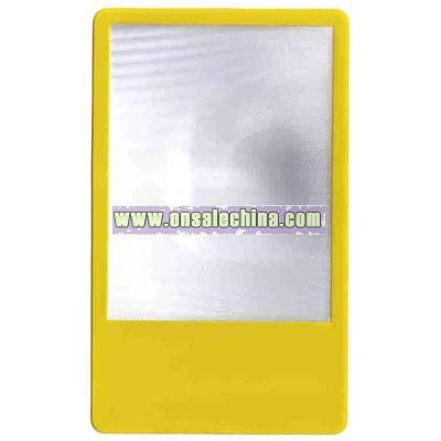 Pocket Size Magnifier with Color Background
