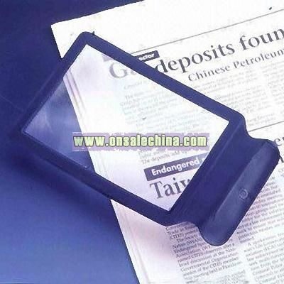 Full Page Sized PVC Magnifying Sheet