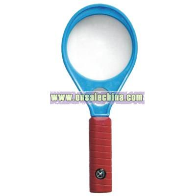 Magnifying Glass with Compass