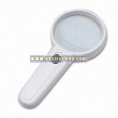 Magnifier with 2 LED Illuminator