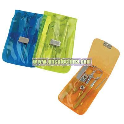 5- pieces travelers manicure set