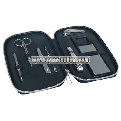 Manicure set with case
