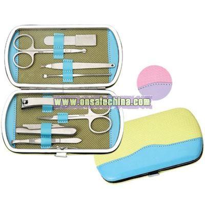 Lady's 8 pcs manicure set