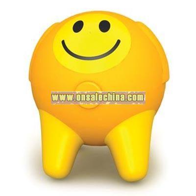 Smile face mini massager