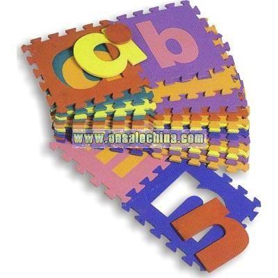 EVA Alphabet A-Z Toy