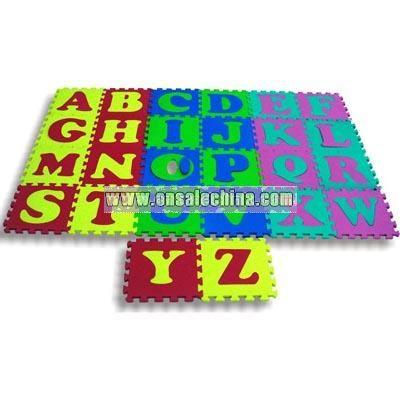 Alphabet A-Z EVA Puzzle