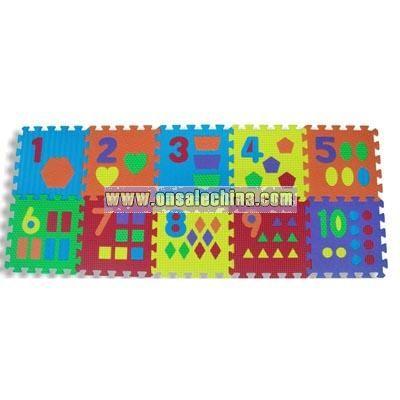 EVA Puzzle Arabic Numbers 0-9
