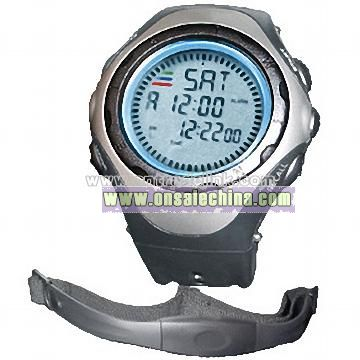 Heart Rate Monitor with Chest Strap