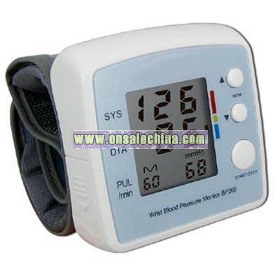 Wrist Style Digital Blood Pressure