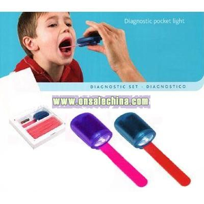 Tongue Depressor Holder Torch
