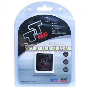 DSTT I Card with Card Reader + Micro SD 1GB