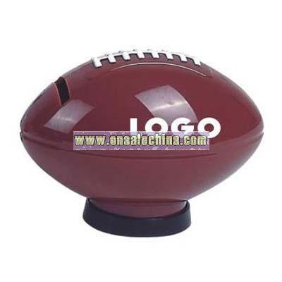 American Football Shaped Coin Bank