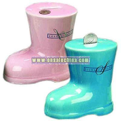 Ceramic shoe bank