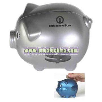 Pig shape bank