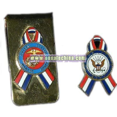 Money Clip And Pins
