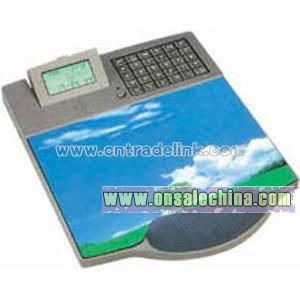 8-Digit Calculator Calendar Clock with Phone & Mouse Pad