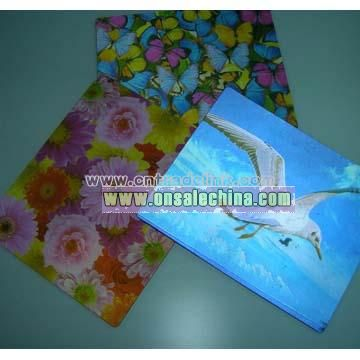 3D Lenticular Mouse Pad