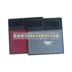 Mouse pad calculator