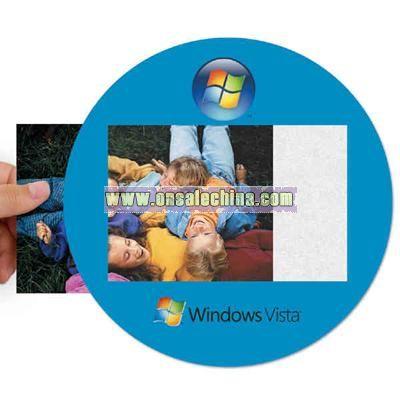 Heavy duty window/photo mouse pad