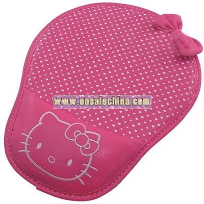 Kitty Leather mouse pad