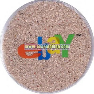 Translucent shell sand mouse pad filled with liquid gel beads