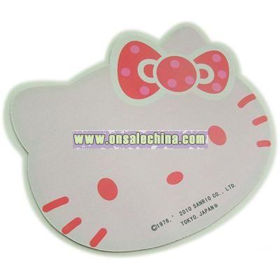 Kitty Soft Neoprene Mouse Pad