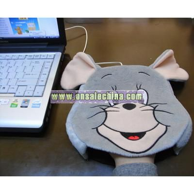 USB Warm Mouse Pad