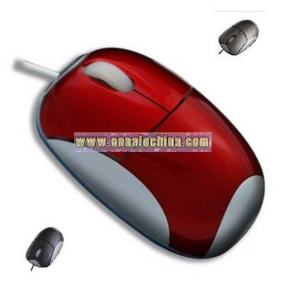 Red Optical Mouse