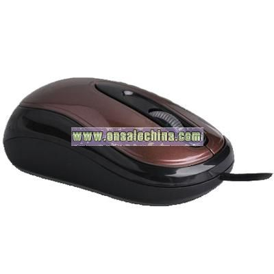 3D Wired Optical Mouse with ingenious and mini Designed